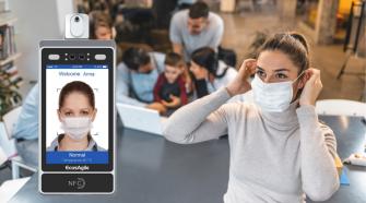 eBiometric salute agilità sicurezza termoscanner contactless timbracartellino digitale riconoscimento facciale